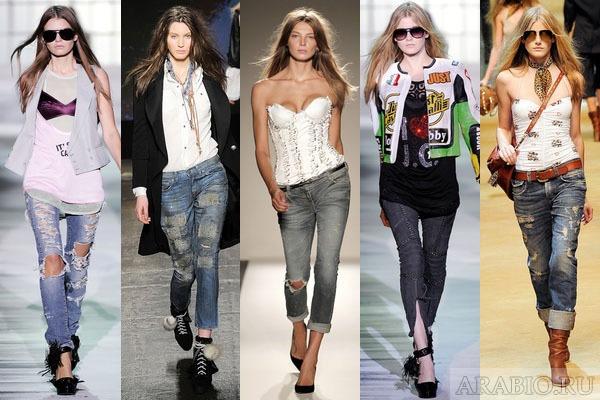 Своими корнями стиль одежды гранж уходит в молодежную субкультуру