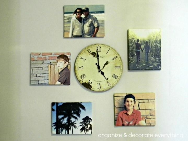 Как использовать фотографии своей семьи в декоре стен