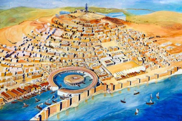 Реконструкция Карфагена. /Фото: alternathistory.com