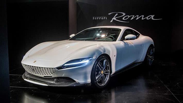 фото Ferrari Roma 2020-2021