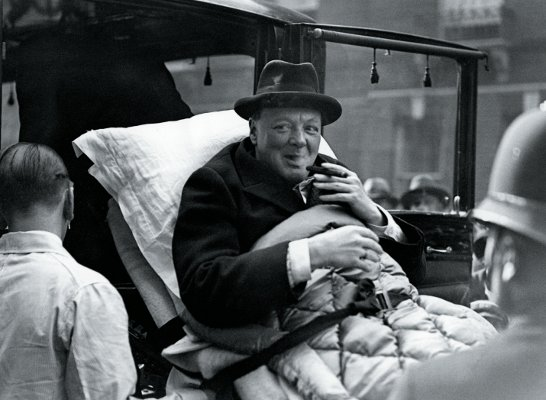 Уинстон Черчилль в хомбурге