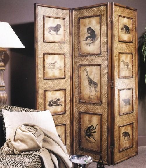 Декоративные ширмы для дома в интерьере