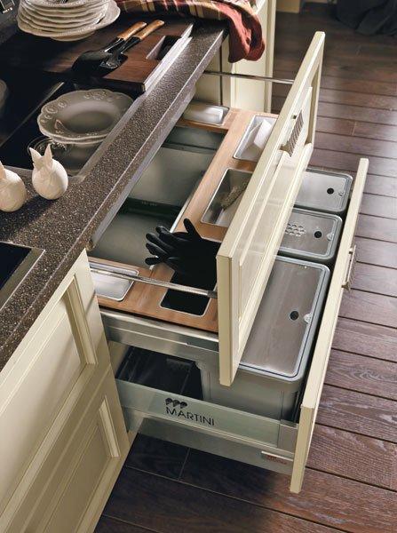 Выдвижные ящики для скрытого хранения