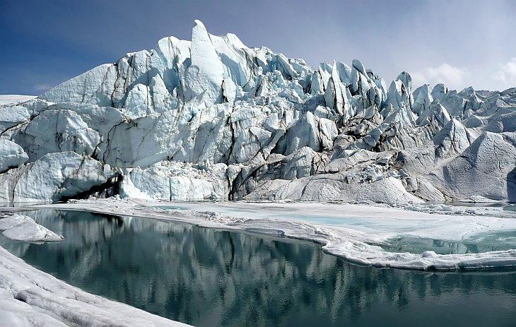 Ледник Матануска, Аляска