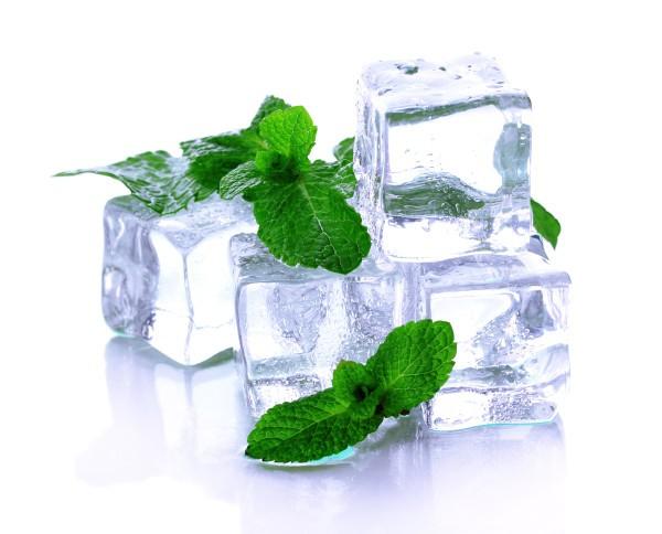 Косметический лед с травами