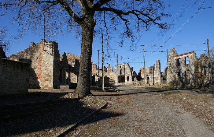 Ужас Второй мировой войны: деревня Орадур-сюр-Глан.