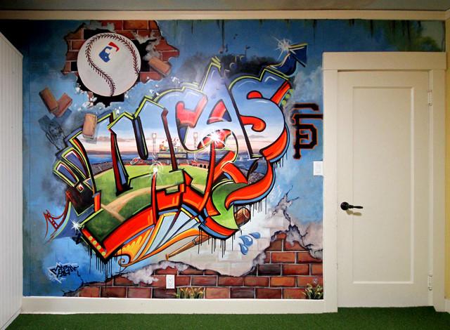 """Граффити """"Lucas"""""""