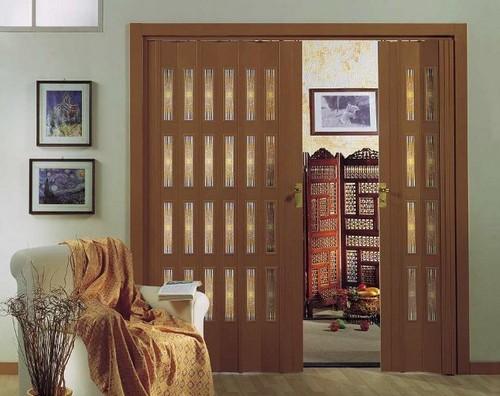 Двери-гармошка фото