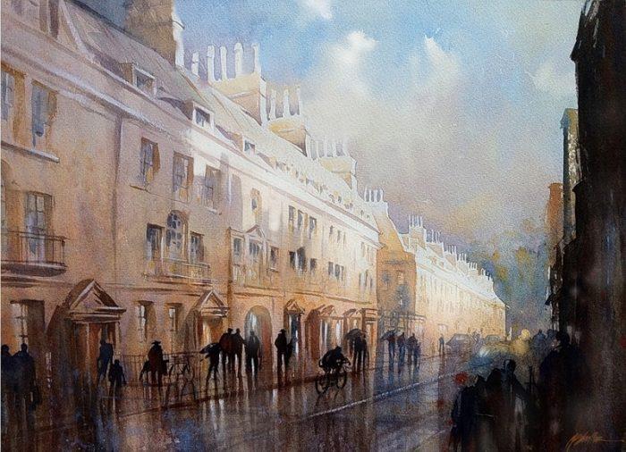 художник Thomas W. Schaller (Ð¢Ð¾Ð¼Ð°Ñ Ð¨Ð°Ð»Ð»ÐµÑ€) картины - 13