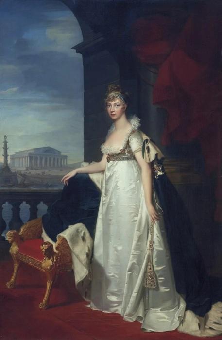 Императрица Елизавета Алексеевна. Неизвестный художник, после 1806-1808 гг./Фото: avatars.mds.yandex.net