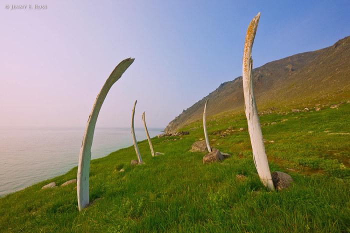 Китовая аллея – уникальный исторический памятник древнеэскимосской культуры