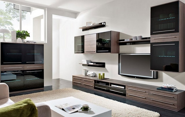 Как использовать модульную мебель в гостиной
