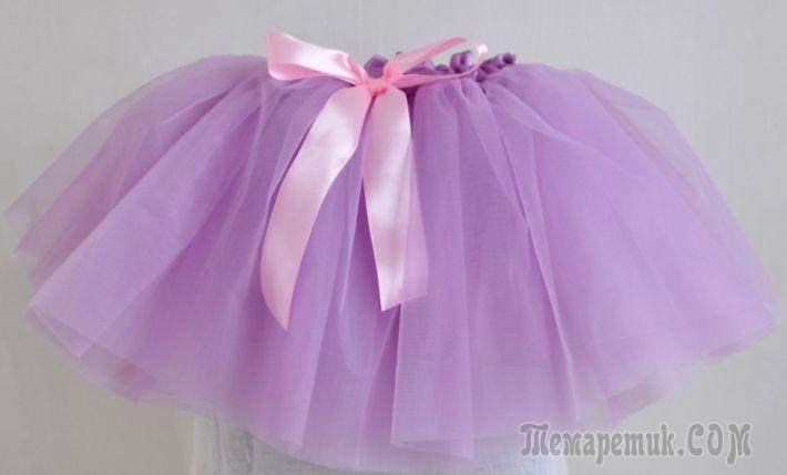 юбка для ребенка крючком для начинающих