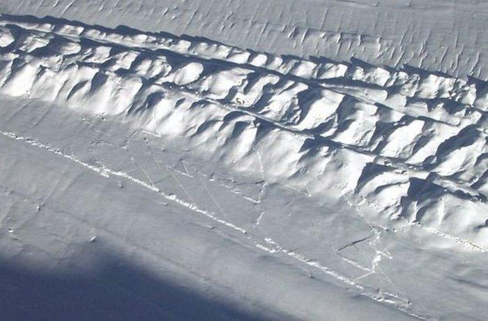 Древнейшие тектонические плиты.