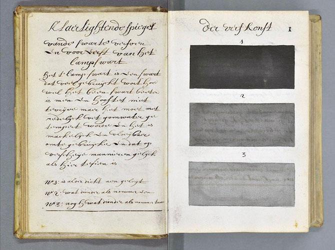 Пятьдесят оттенков серого и не только: уникальный средневековый цветовой справочник