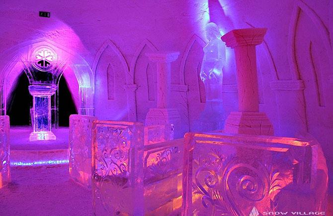 8 удивительных ледовых отелей мира