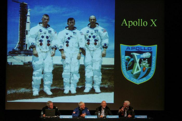 астронавты апполона 10