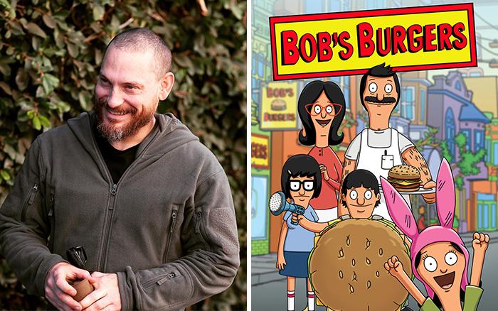 Дэйв Крик - главный дизайнер персонажей популярного мультсериала «Закусочная Боба».
