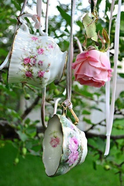 Винтажные вещи в саду. ТОП 30