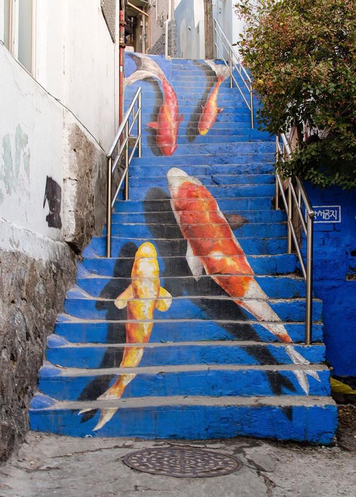 Креативные лестнцы