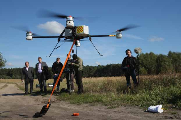 Deutsche Telekom Counters Copper Thieves With Drones And DNA
