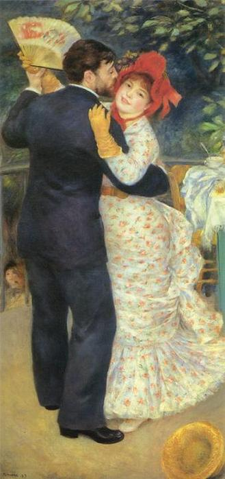 Огюст Ренуар Деревенский танец 1882-1883 (329x698, 37Kb)
