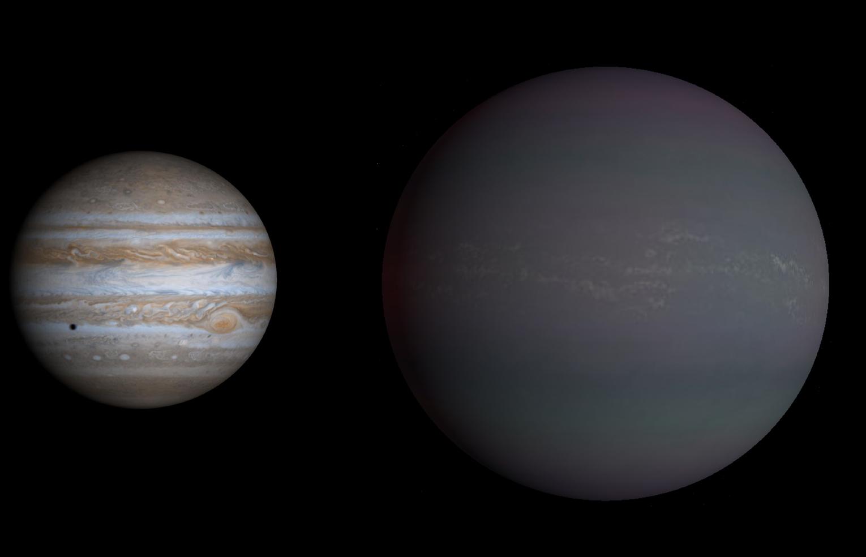 самая большая планета во вселенной картинки какими