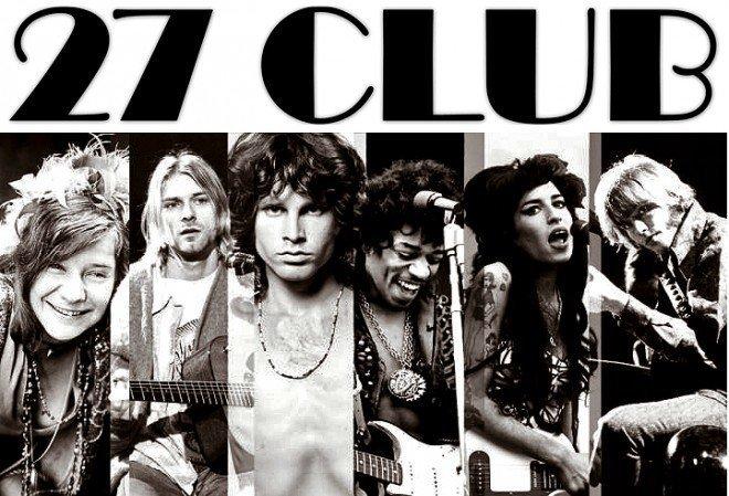 «Феномен «клуба 27» знаменитости, мистика, роковые числа