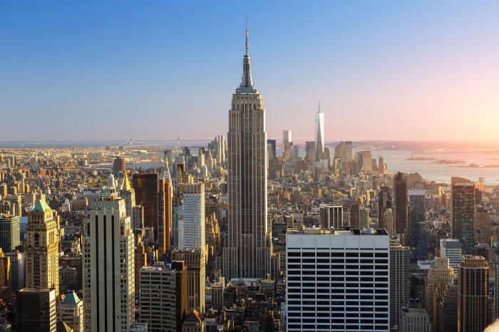 Офисное здание на Манхэттене.