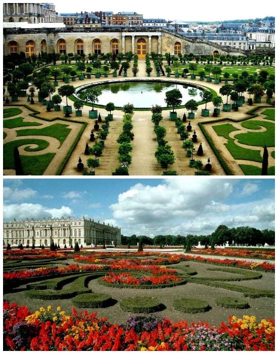 Сады и парки Версаля в Париже (Франция). | Фото: dizaynland.ru.