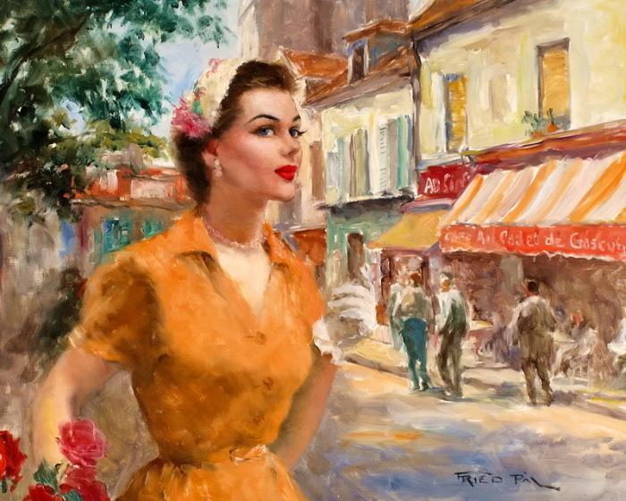 История корсета прерывается в середине XX века, чтобы вновь продолжиться в XXI уже в новых материалах и с новыми качествами