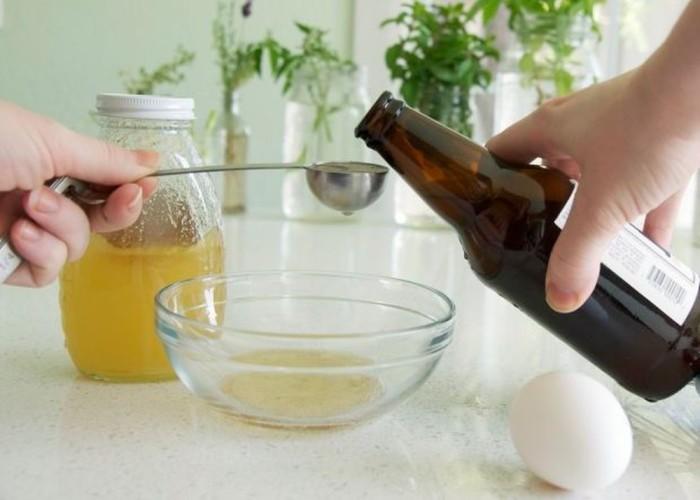 Маски на основе пива сделают волосы крепкими и здоровыми. /Фото: photo-3-baomoi.zadn.vn
