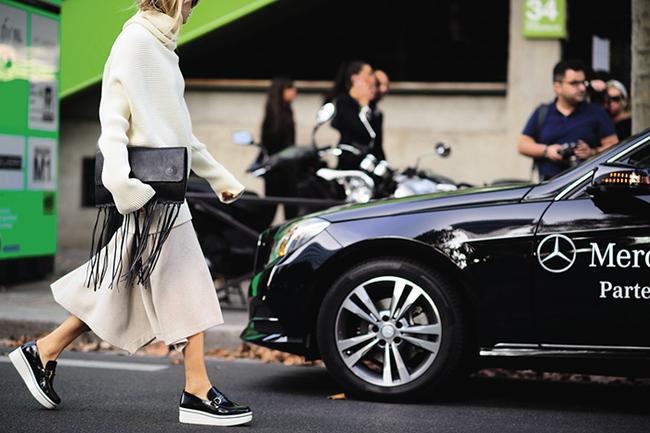 На Парижской неделе моды, 2014
