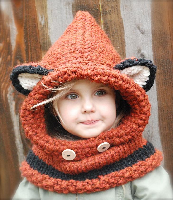 вязаные фото шапки детям
