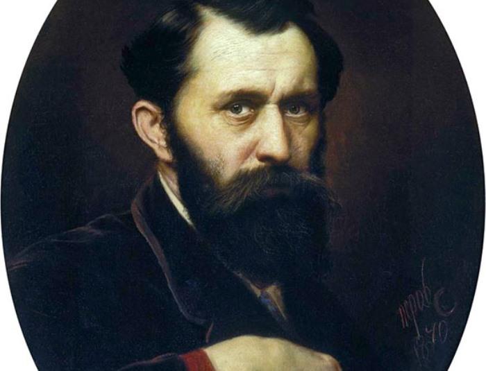 В. Перов. Автопортрет, 1870   Фото: mmsk.ru