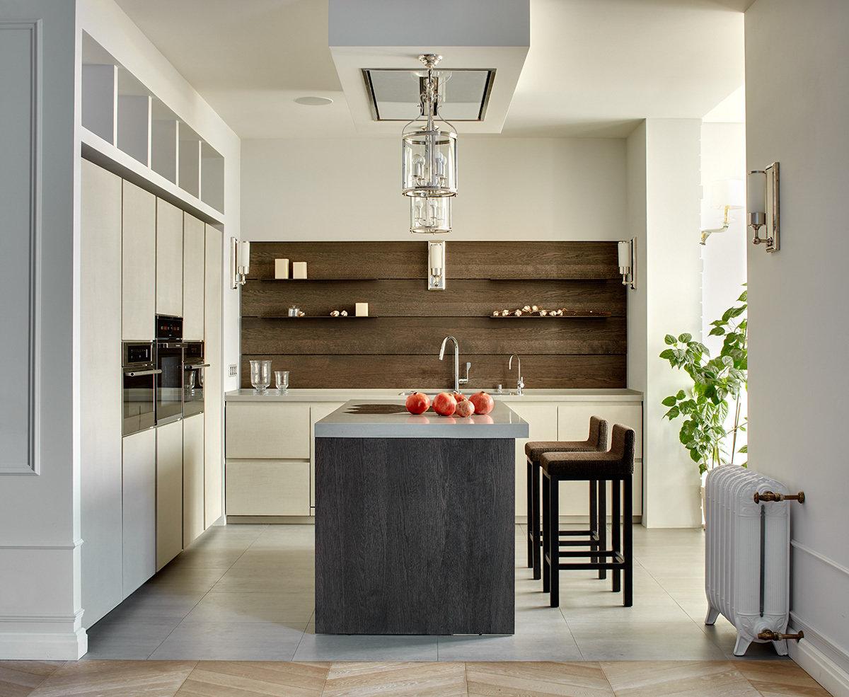 Кухни без навесных шкафов в интерьере (16 фото), дизайн кухн.