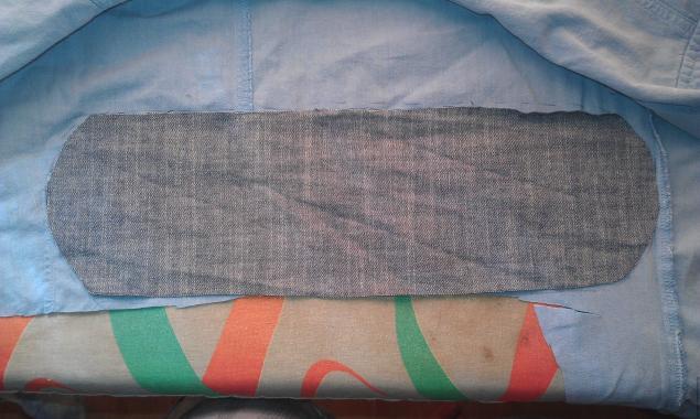 Модная сумка из старых джинсов, фото № 17