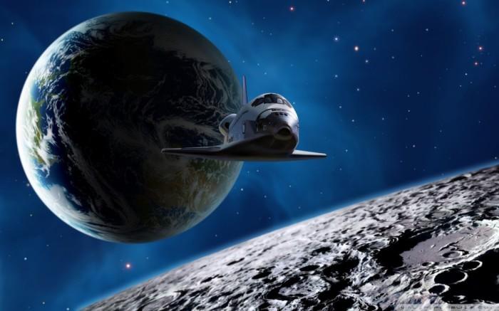 Человек смог полететь и в космос, и на луну.