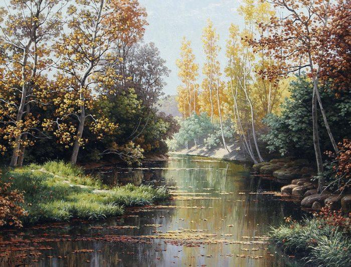 художник René Charles Edmond His картины -2-14