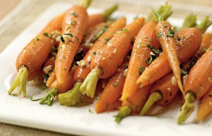 Полезно после 40: морковь.
