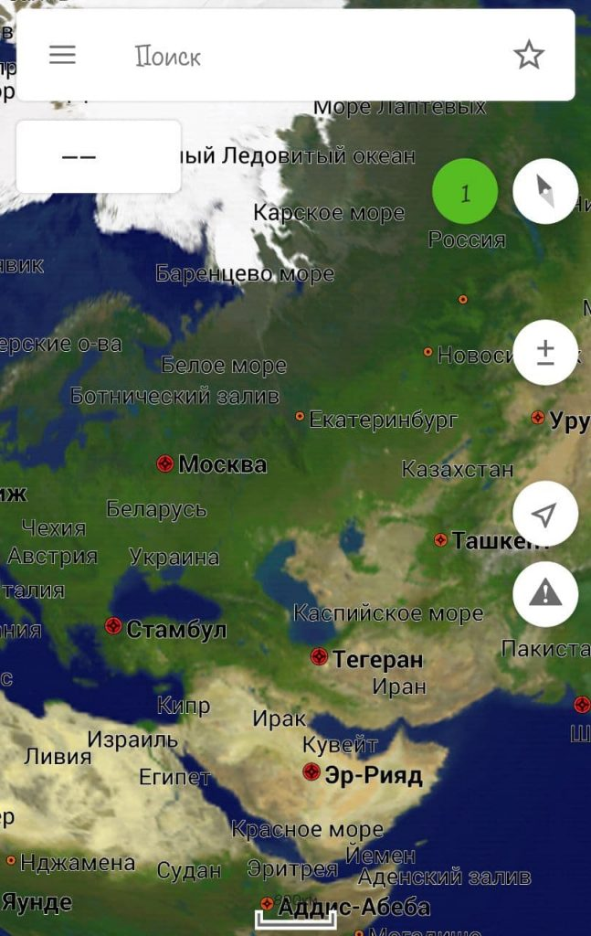 навигатор Навител для андроид смартфона