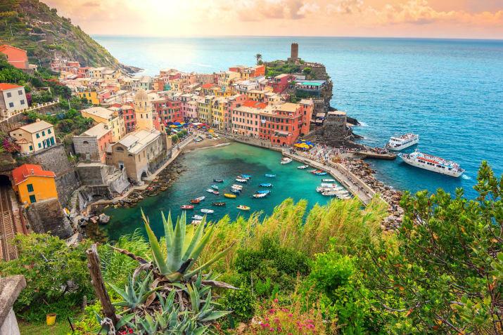 Вернацца, Италия Сказочно, города, красиво, места, мир, пейзаж, планета, фото