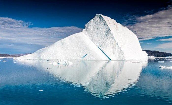 Айсберги внутри Земли.