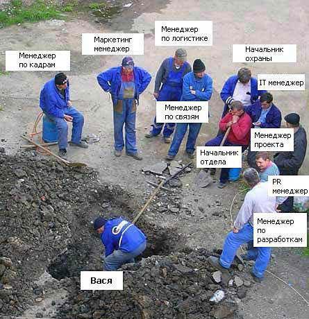 Структура фирмы.