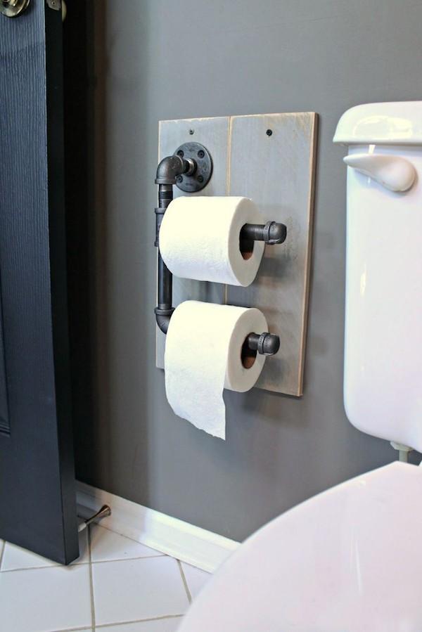 держатель для туалетной бумаги своими руками фото (10)