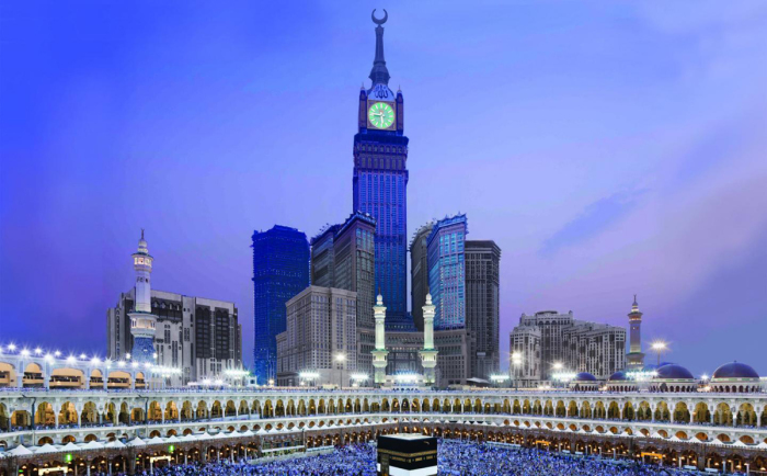 Abraj Al Bait Towers.