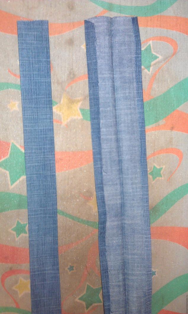 Модная сумка из старых джинсов, фото № 33