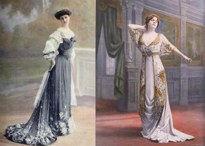 Платья от Paquin.