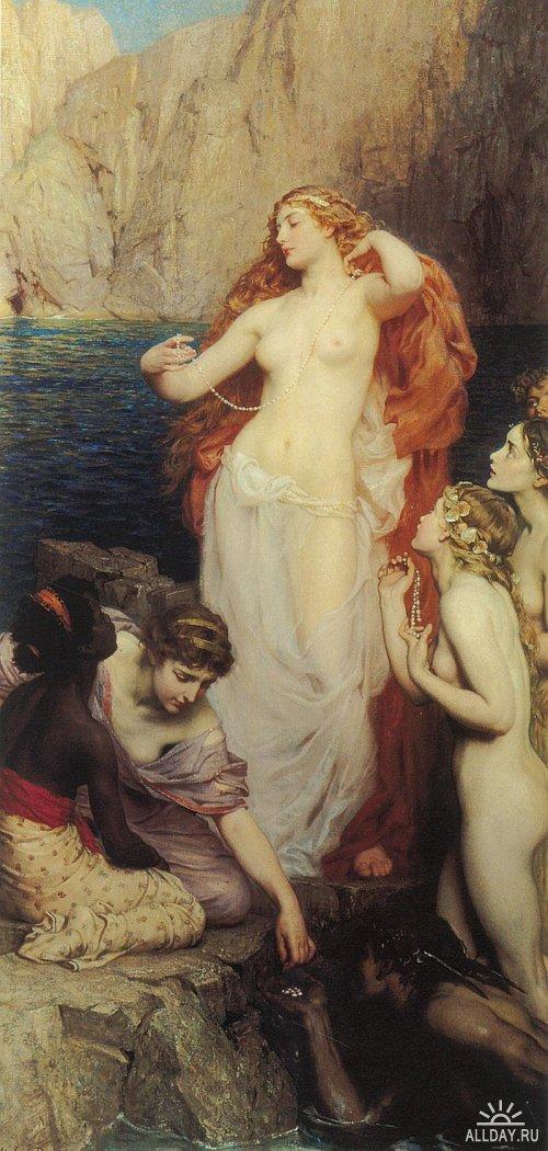 Богиня красоты в классике мировой живописи