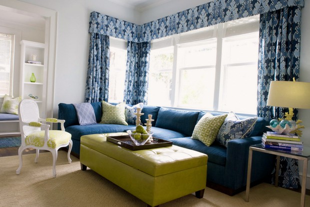 Угловой диван в восточном стиле